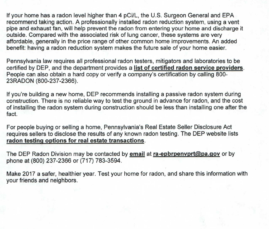 Radon Gas Page 2