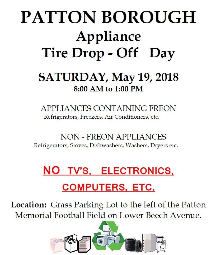 Appliance Day 2018 No Prices