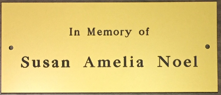 2017 In Memory of Susan Amelia Noel