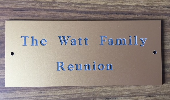 2017 The Watt Family Reunion